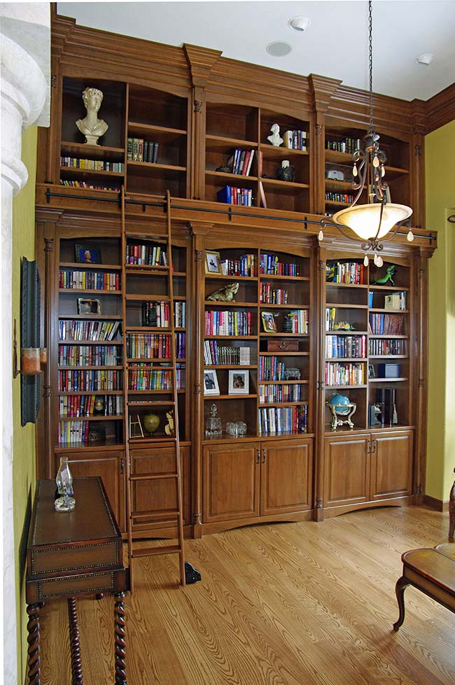 Amazing Bookshelves from Mountaineer Woodcraft