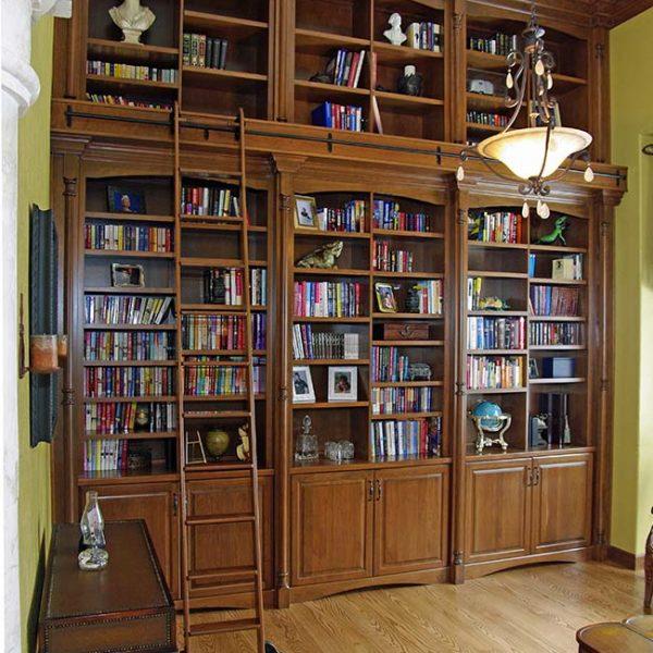 Amazing Bookshelves from Mountaineer Woodcraft